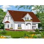 Dom w aksamitkach 4 (Biuro Projektów ARCHON+)
